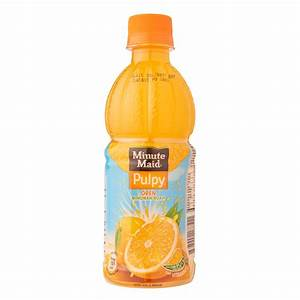 Minute Maid Pulpy Orange Fruit Drink 350ml - from RedMart