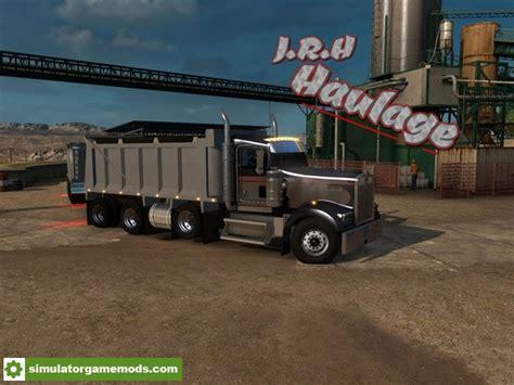 ats kenworth  dump truck simulator games mods