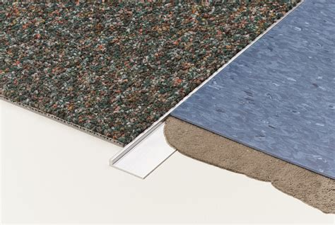 linoleum flooring edging transition carpet to vinyl floors dt036