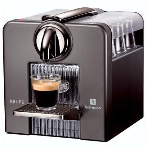 Espresso Machine ? Krups Nespresso Le Cube   Latest Trends in Home Appliances