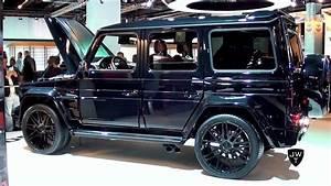 The Brabus 850 Biturbo Widestar Mercedes G Wagon Is A
