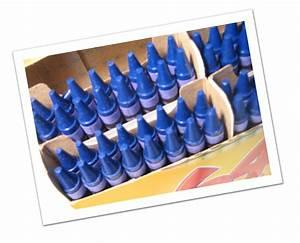 Cerulean Blue Crayon