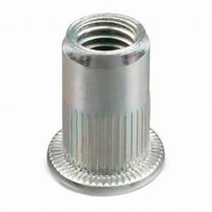Ecrou A Sertir : ecrou sertir crant t te plate acier m8 x 40 mm boite ~ Melissatoandfro.com Idées de Décoration