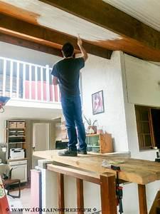 Bien Peindre Un Plafond : peindre un plafond en lambris en un week end et transfigurer une pi ce ~ Melissatoandfro.com Idées de Décoration