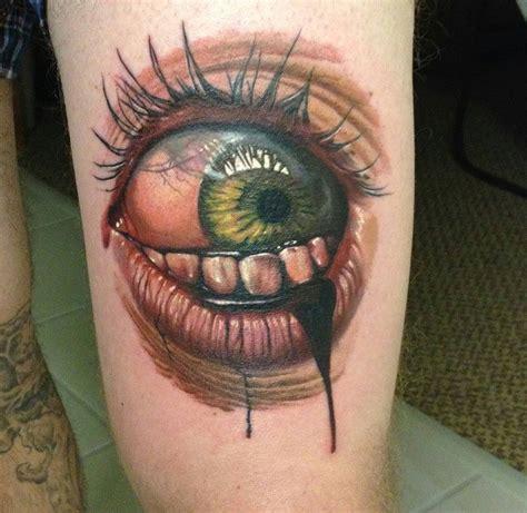 tatouage doeil  inkage