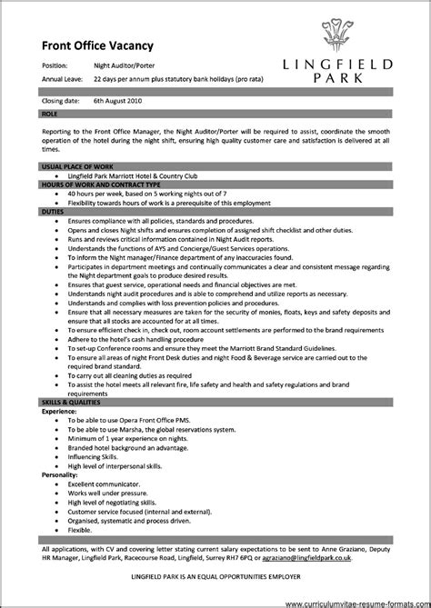 Office Manager Resume Template by Office Manager Resume Template Free Sles Exles