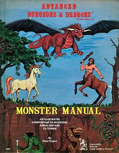 Monster Manual 1st Edition