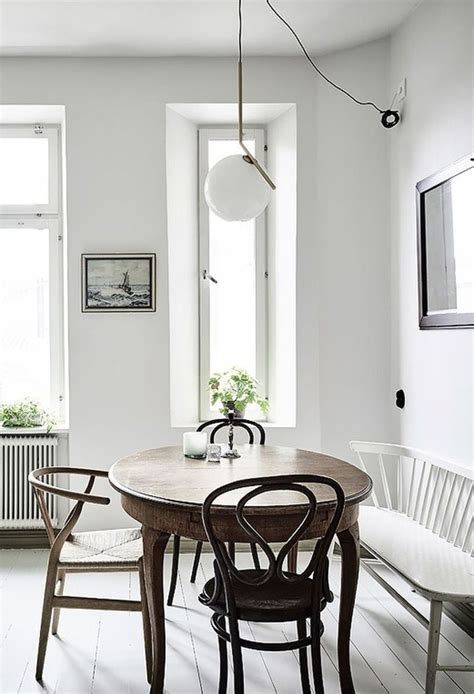 small white kitchen table with bench best 25 scandinavian dining table ideas on