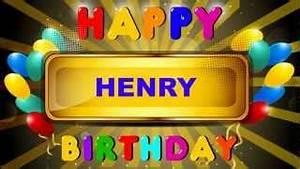 Birthday Henry