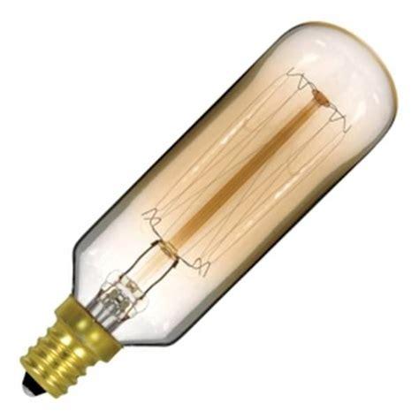 t9 light bulb satco 02420 40 watt 120 volt t9 candelabra base