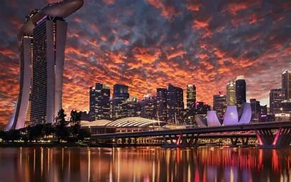 Singapore 4k Wallpapers Marina Bay Sands Singapur