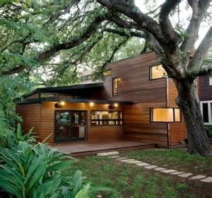 green house plans designs architecture green architecture house design which the wall made from wood near big tree