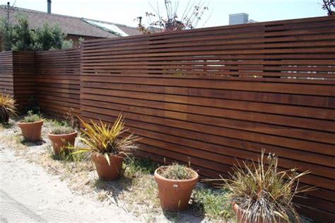 wooden fence designs offer  rustic  design blog