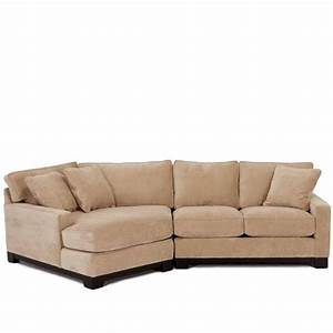Living room sofas rubato 2 piece cuddler chaise sofa for Sectional sofa with cuddler and chaise