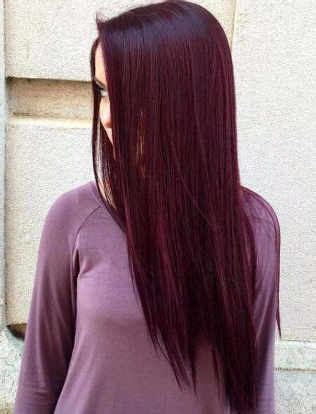 Tendance Coloration  Tout savoir sur les cheveux violets prune la coloration phare de 2018