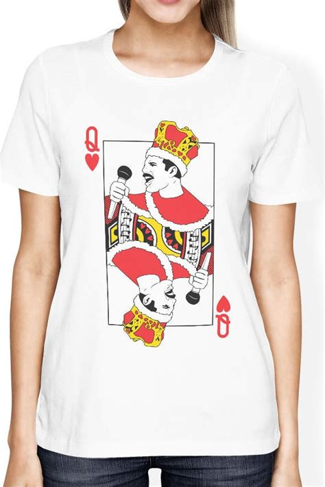 We did not find results for: Queen Band shirt Freddie Mercury t shirt with playing card