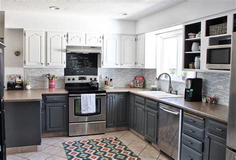 create grey walls kitchen interior design