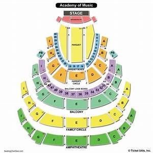 Academy Of Music Philadelphia Seating Chart Seating
