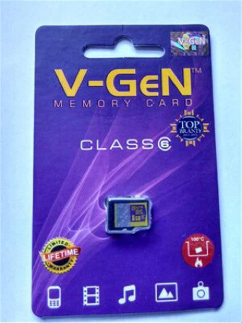 jual memory micro sd vgen 8gb class 6 original non adaptor di lapak abgary store abgarystore