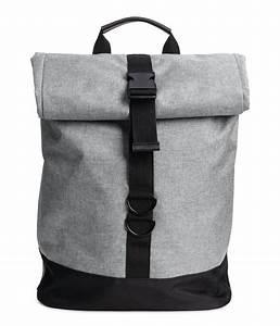 Schwarze Tasche H M : selber n hen rucksack graumeliert herren h m de capsule planing rucksack n hen ~ Watch28wear.com Haus und Dekorationen