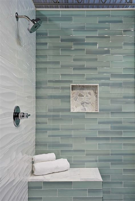 glass tile ideas for small bathrooms bathroom shower wall tile new glass subway tile