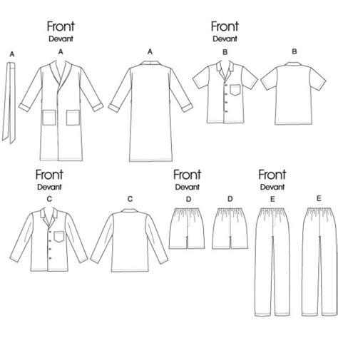 modèle couture robe de chambre 5