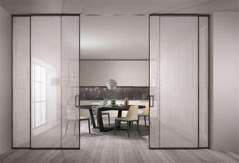 Porta Scorrevole Con Vetro by Porta Scorrevole In Vetro Esterno Muro Henry Glass