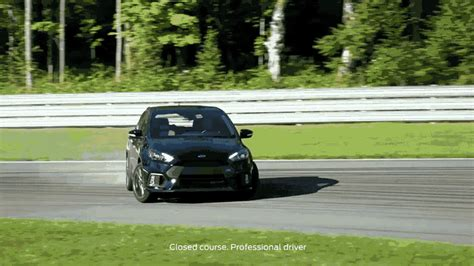 Drift Ford Focus by Ford Europe Ben Collins How To Drift The Ford Focus Rs