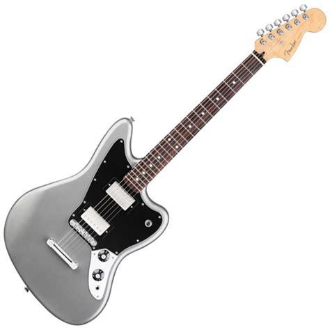 Fender Jaguar Hh Blacktop by Fender Blacktop Hh Jaguar Electric Guitar Rn Silver At