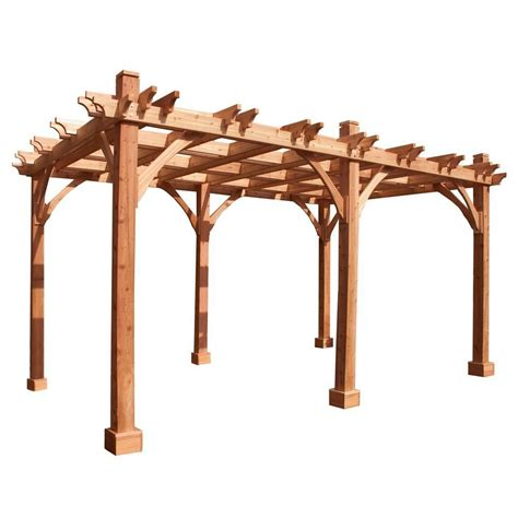 outdoor living today 12 ft x 16 ft pergola the home depot canada