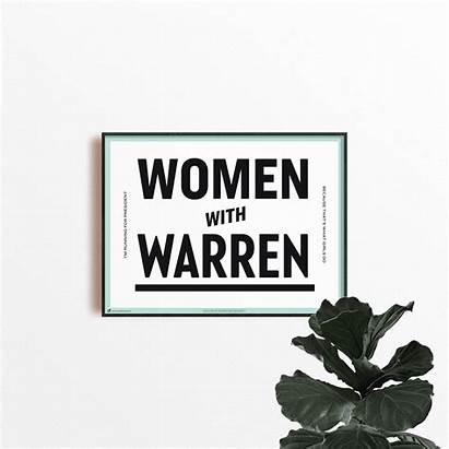 Warren Elizabeth Trump Stress Poster Screaming Political