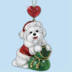 bichon frise christmas ornaments your 1st one is free the danbury mint