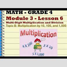 Grade 4 Mod 3 Lesson 6 Youtube