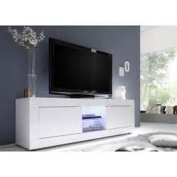 envie de meubles meuble tv laqu 233 blanc tika 181 cm blanc laqu 233 pas cher achat vente