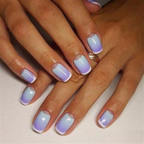nägel 2016 trend ombre manicure trend na lato