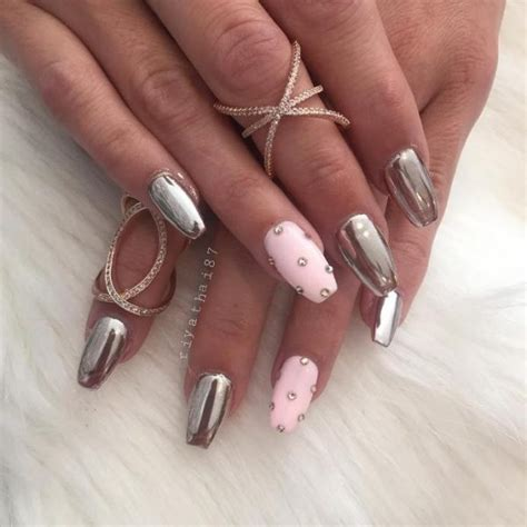 fabulous mirror nail designs   glam   nails