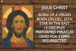 Horus And Jesus Comparison Chart Zeitgeist Jpg