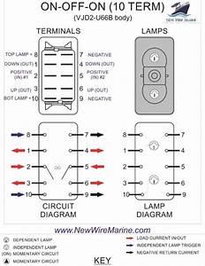Windlass Rocker Switch