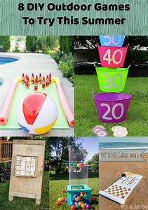 DIY Outdoor Games You Have To Try This Summer - Resin Crafts