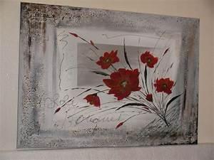 peinture abstraite bouquet de fleurs http www With chambre bébé design avec bouquet de fleurs zen