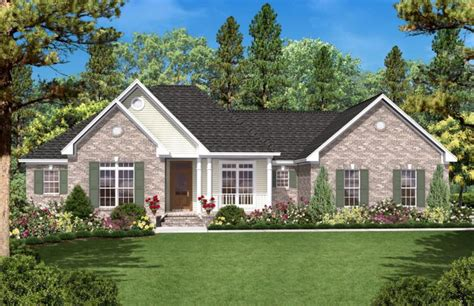 ranch floor plans with split bedrooms country plan 1 600 square 3 bedrooms 2 bathrooms