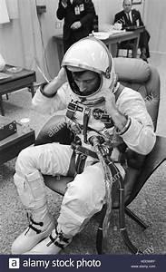 NASA Gemini-Titan 3 prime crew astronaut John Young suits ...