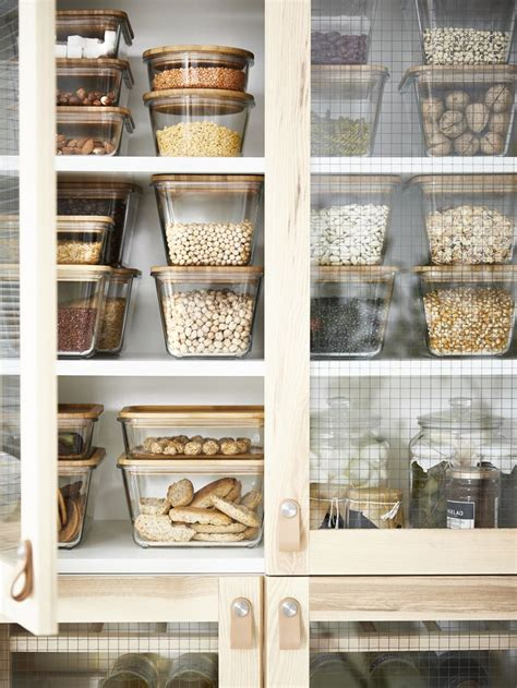 Aufbewahrung Küche by Vorratsbeh 228 Lter Mit Deckel Ikea 365 Rechteckig Glas Glas