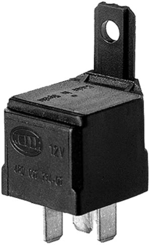 hl hella   mini relay spdt  resistor