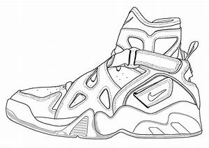 Free coloring pages of air max 1