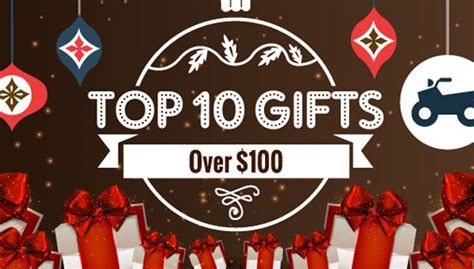top ten holiday gifts over 100 atv com