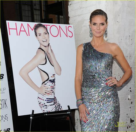 Heidi Klum Hamptons Magazine Party Photo