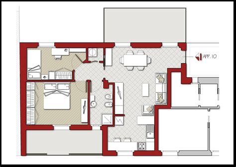 Piantine Appartamento by Artedil S R L Residenza La Fenice