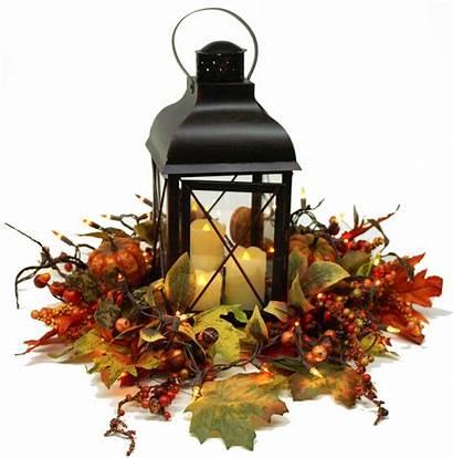 Fall Centerpiece Lantern Farmhouse Centerpieces Supplies Lanterns