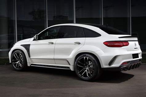 Mercedes Gle Class Modification by Topcar Soaks Merc Gle Coupe In Carbon 41 Pics Carscoops